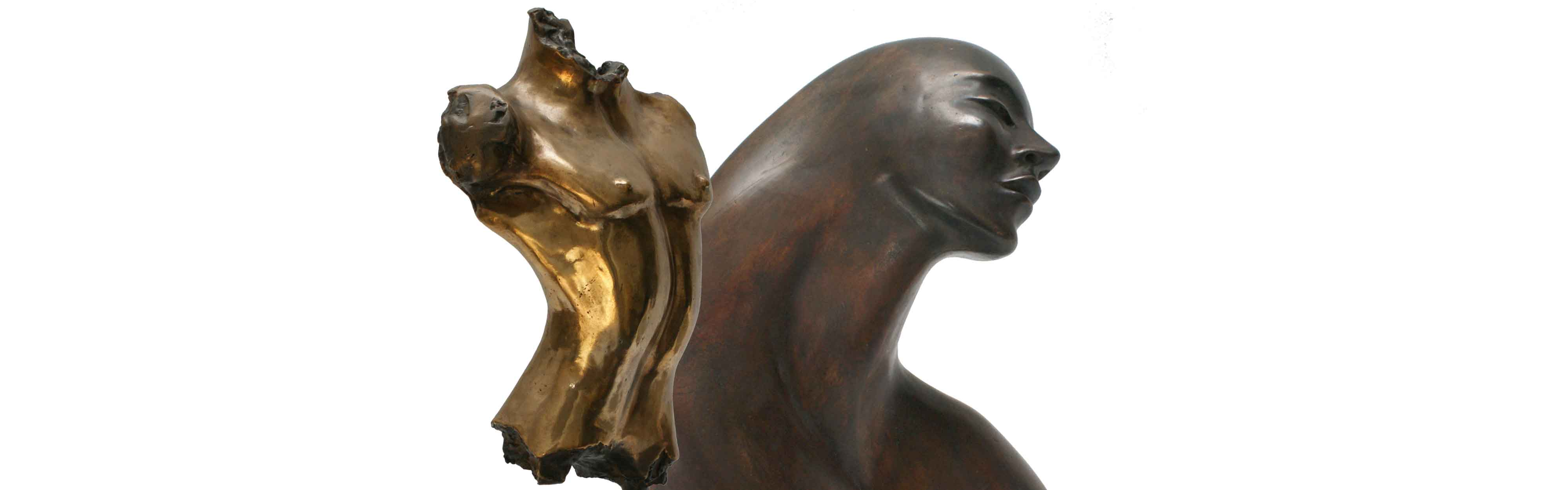 bronzes with emotion, power and passion